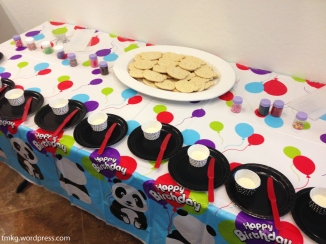 Cookie-decorating station